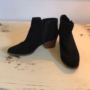 Aldo,black suede bootie